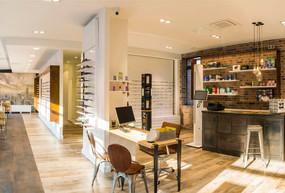 La rénovation d'un local commercial en 6 étapes - Magasin d'optique Lempereur