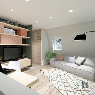 mezzanine salon
