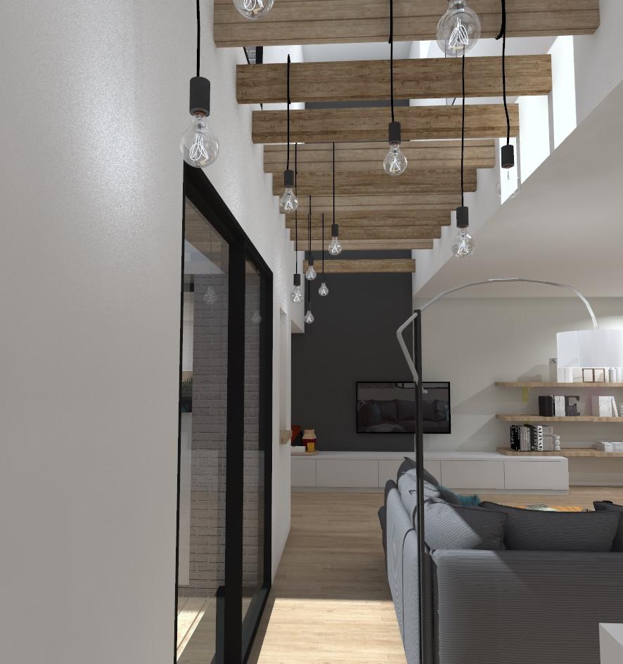 Salon et double hauteur