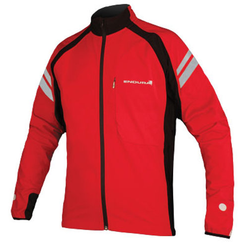 ENDURA WINDCHILL II JACKET RED (M, L, XL)