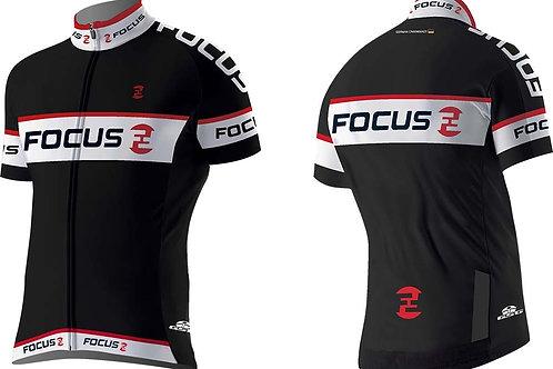 FOCUS FZ BLACK JERSEY (M, L)