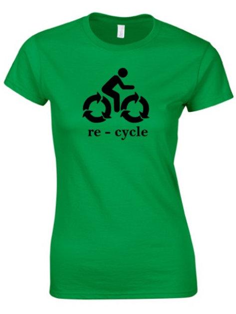 RE-CYCLE T-SHIRT WOMEN