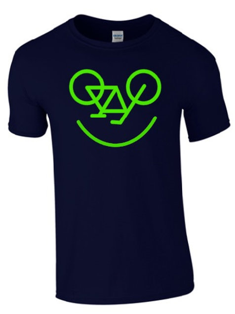 SMILEY BICYCLE T-SHIRT
