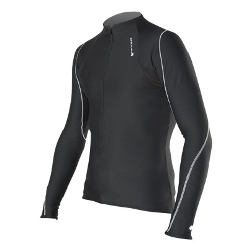 ENDURA Xtract® ZIP NECK BLACK (M)