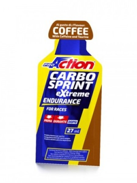 PROACTION ENERGY GELS - CARBO SPRINT EXTREME COFFEE