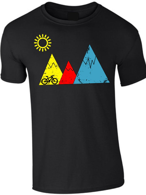 RIDE THE MOUNTAINS T-SHIRT