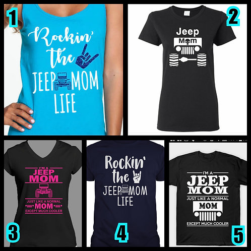 Jeep Mom Top
