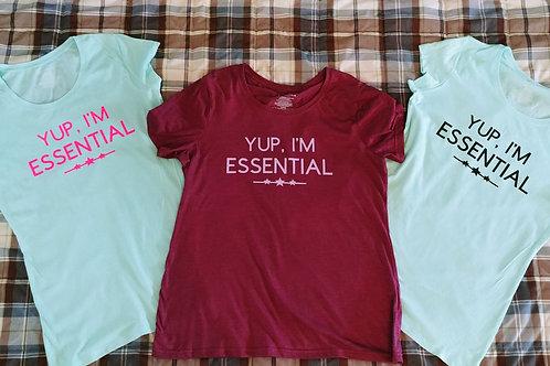 Yup, I'm Essential