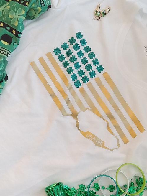 Shamrock Flag T-Shirt