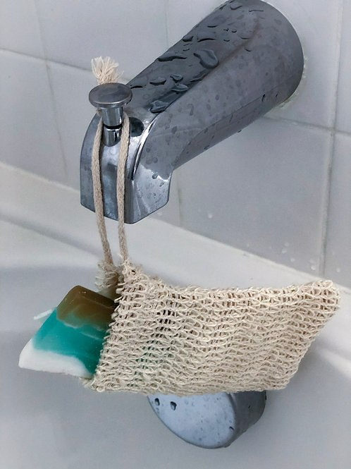 Natural Loofah Soap Saver