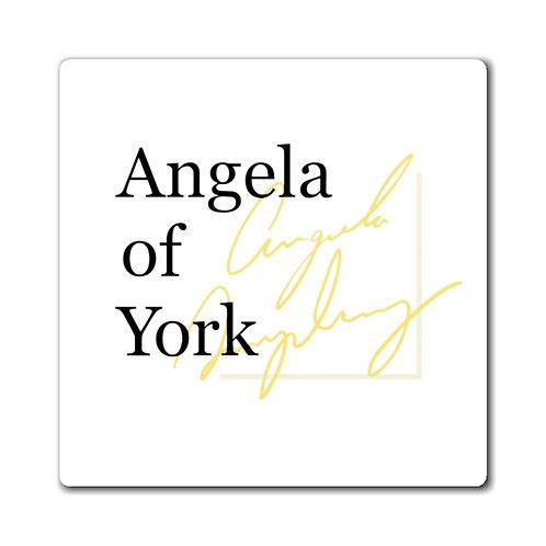 Angela of York Magnets