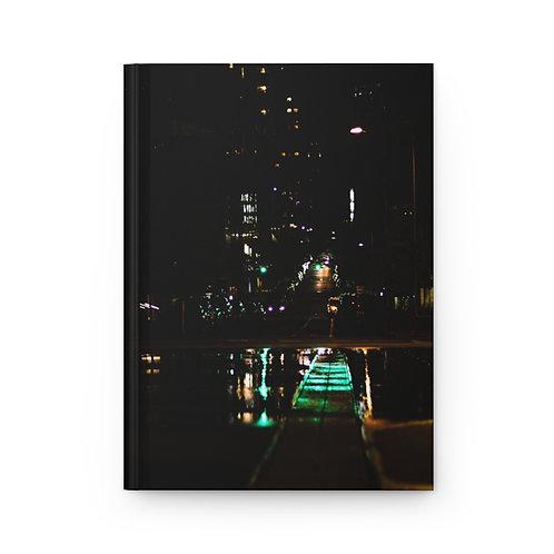 NYC Lights Hardcover Journal Matte