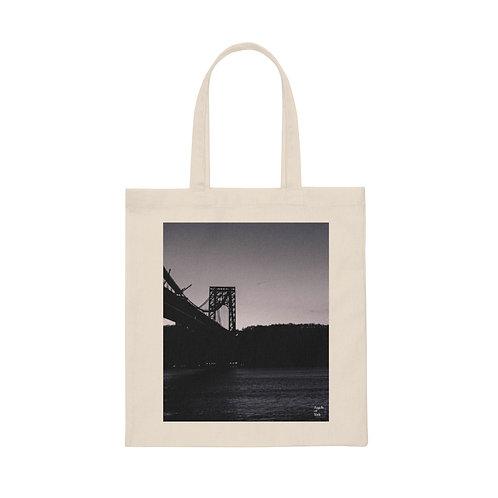George Washington Bridge Canvas Tote Bag