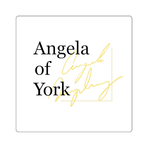 Angela of York Square Stickers