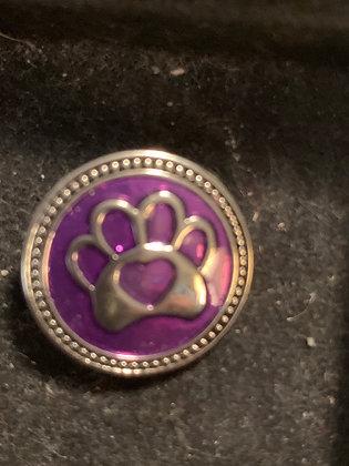 Pop purple paw