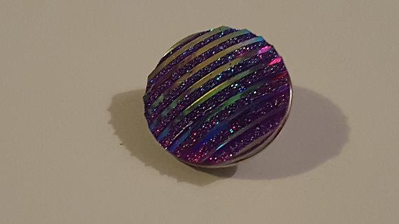 pr-1 Purple Rhinestone 18mm