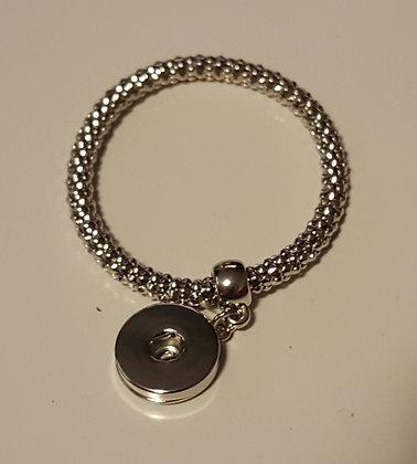 silver band bracelet