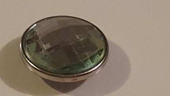 gr-1 Green Rhinestone Snap
