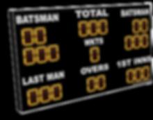 digital cricket scoreboard