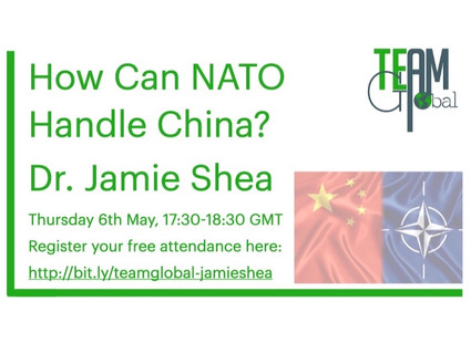 Dr Jamie Shea - How Can NATO Handle China?