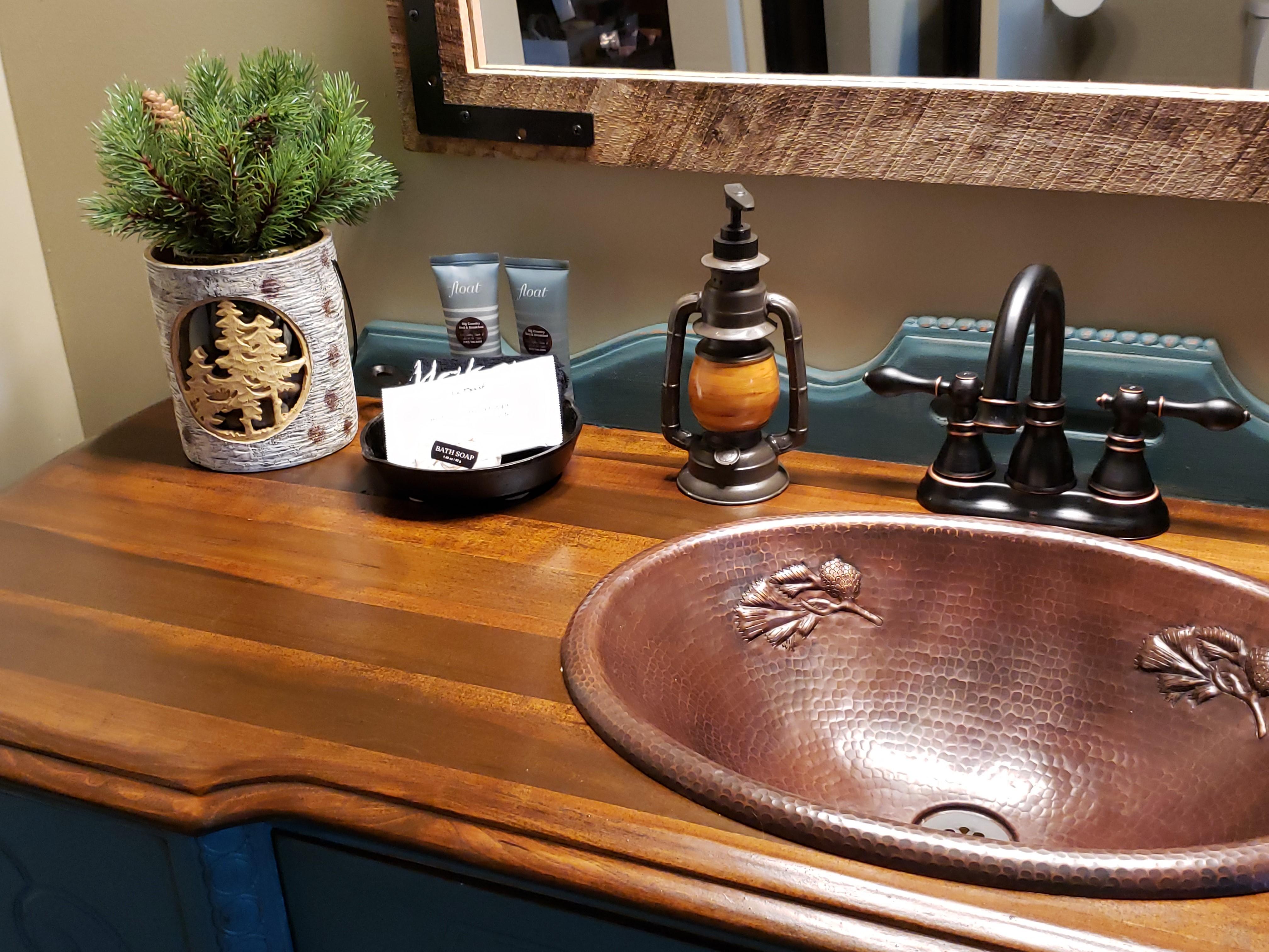 Antique vanity top