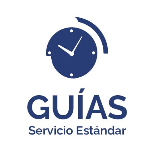 Guía Nacional - Servicio Estándar