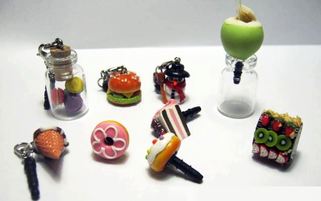 Phone Decoration Clay Crafts