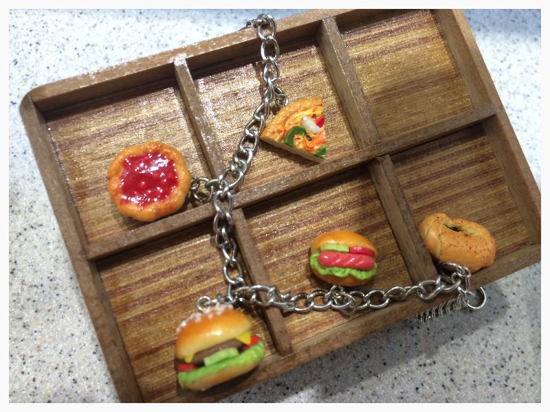 Food & Bakery Bracelet Clay Craft