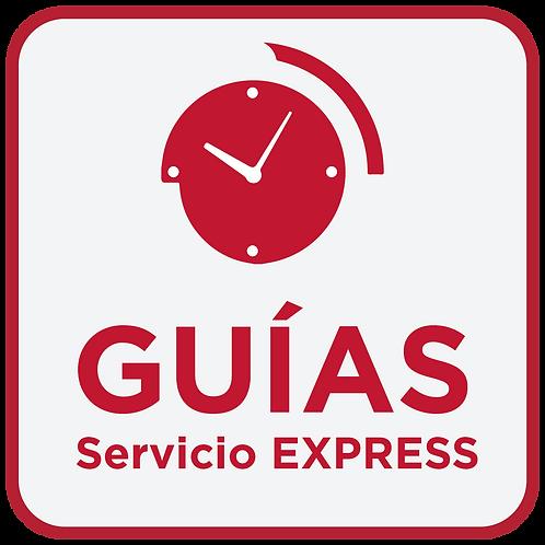 Guía Nacional - Servicio Express