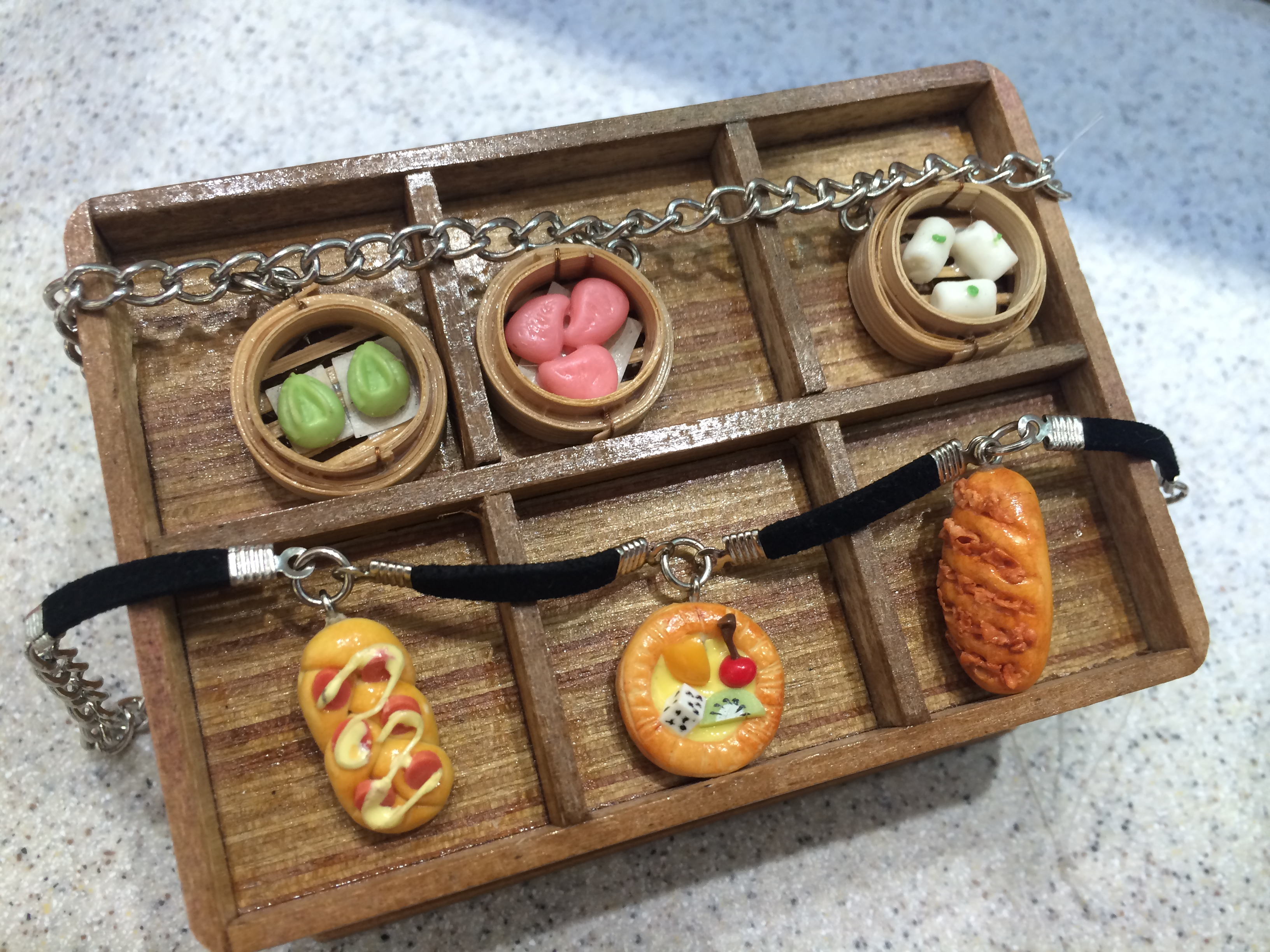 Dimsum Bracelet Clay Craft