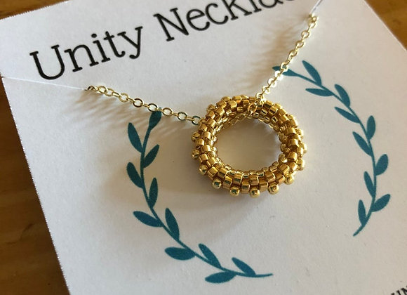 Unity Necklace, Love for Eternity Handwoven Pendant Gifted to Maren Morris