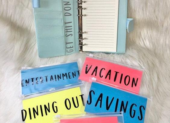 Budget Binder for Saving Money, Dave Ramsey Money Saving Cash Envelope System