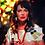Thumbnail: Seen on Katherine Heigl Handwoven Fringe Black and Gold Statement Earrings