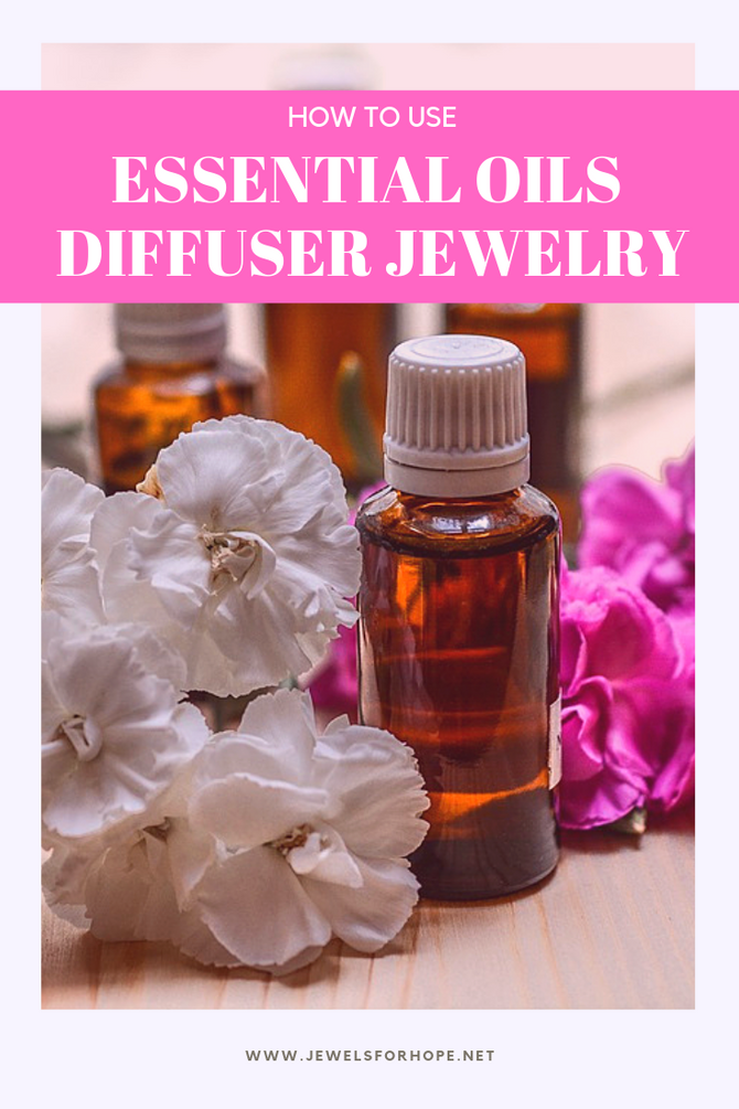 How To Use Essential Oils Diffuser Jewelry