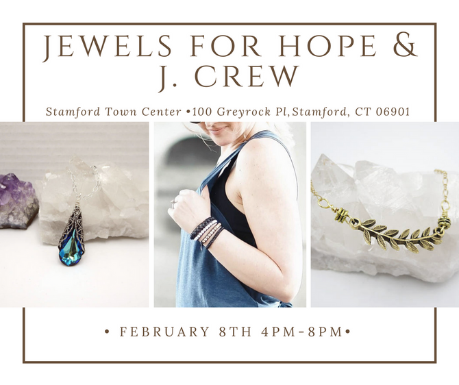 Jewels For Hope's Valentine's Day Event at J.Crew - Give Gifts That Give Back This Holiday!
