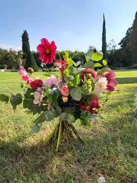 """bouquet realizzato da """"i petali di Alice"""