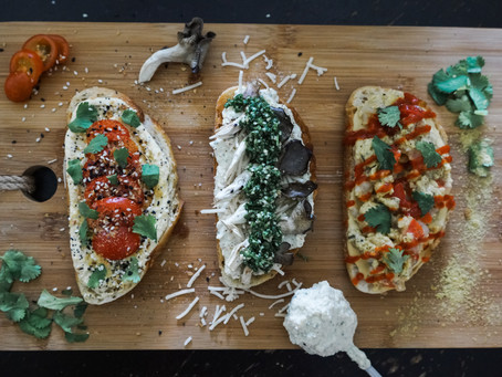 3 Savory Vegan Toasts (That Don't Involve Avocado)