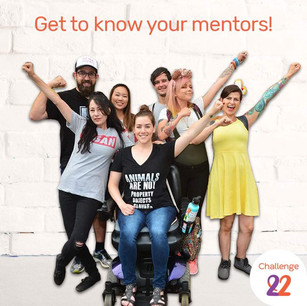 Challenge 22+ - Mentor With Us