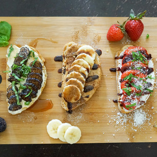 3 Sweet Vegan Breakfast Toasts (That Don't Involve Avocado)