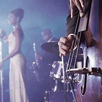 Jazzband, Loungeband, Coverband für Hintergrund. Sängerin Jazz und Soul, mit Kontrabass, Piano un Gitarre für Sektempfang, Vernissage,Incsntive oder Sommerfest. Aber auch für Silvesterfeier oder Silvestergala