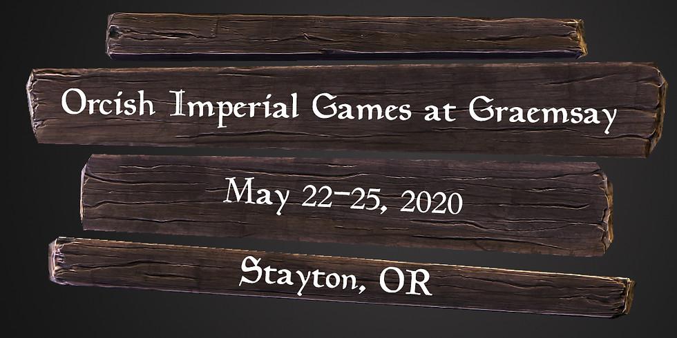 Orcish Imperial Games at Graemsay
