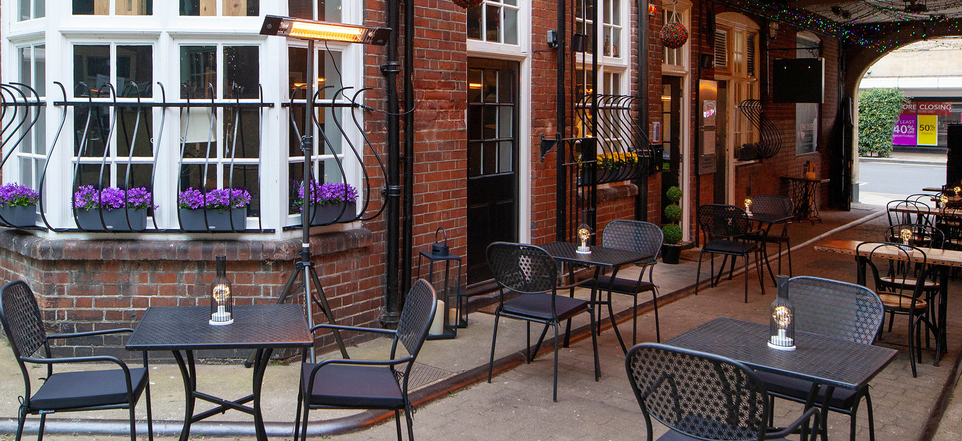 Jorges with outdoor seating near me- 2 1