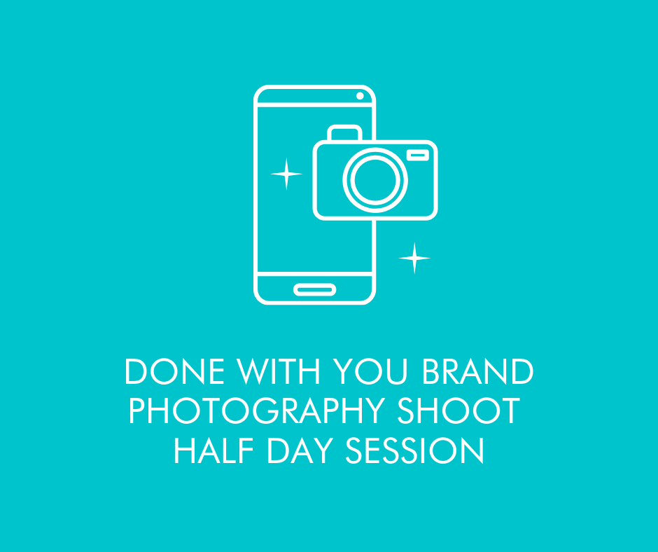 Done with you Brand Shoot - Half Day