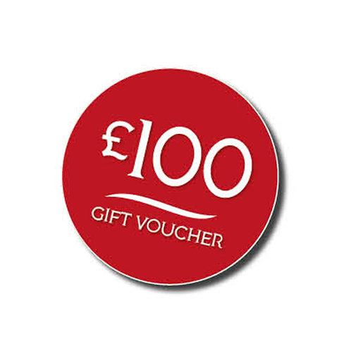 £100 Gift Voucher to spend on Jorge's Restaurant