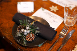 Napkin rings gifted by John Lewis