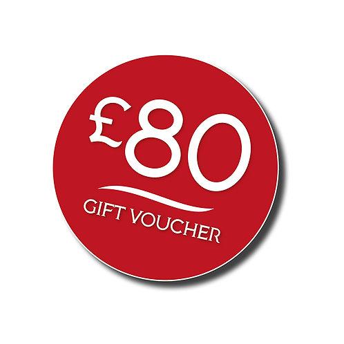 £80 Gift Voucher to spend at Jorge's Restaurant