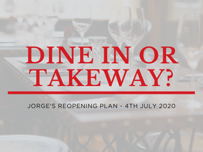 Reopening Plan | Dine-in or takeaway?