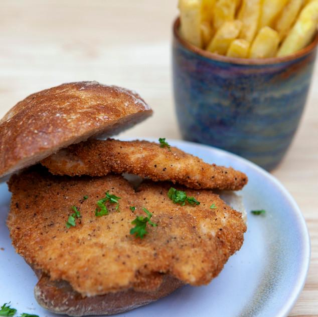 Chicken Panado sandwich from Go Bifanas Portuguese takeaway and sandwich shop in Norwich.jpg