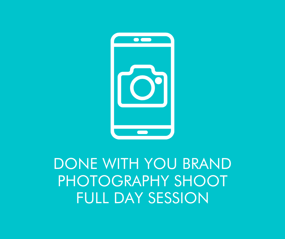 Done with you Brand Shoot - Full Day