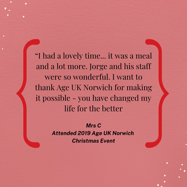 Testimonials from Age UK Norwich giving back event for Jorges Restaurnat.png